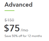 QuickBooks Advanced 50% Off